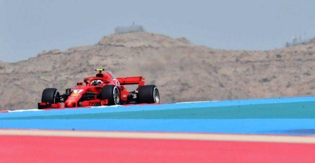 Raikkonen marcó el rumbo en el inicio de los ensayos en Bahrein