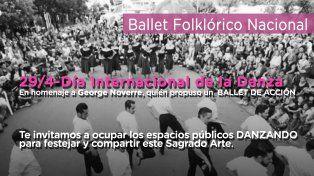 Invitan a bailar en espacios públicos para conmemorar el Día Internacional de la Danza