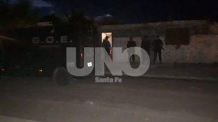 Detenidos. Los delincuentes fueron hallados en una vivienda ubicada en Amenabar y Gaboto.