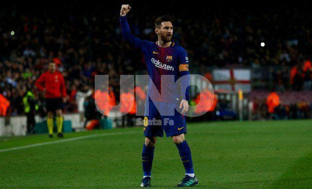 Otra descollante actuación de Messi para la victoria de Barcelona