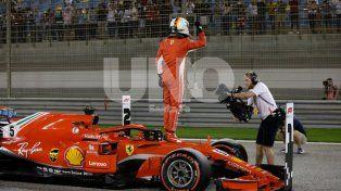 Vettel se quedó con la pole para el GP de Bahrein
