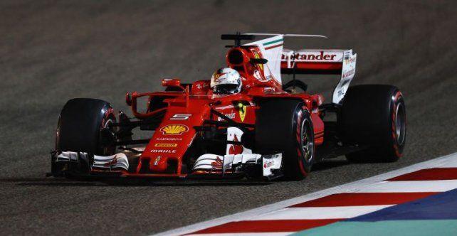 Vettel reafirmó su gran inicio en Bahrein