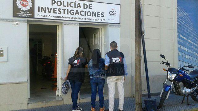 Detenida. La mujer fue aprehendida por pesquisas el pasado 29 de marzo en barrio El Pozo.