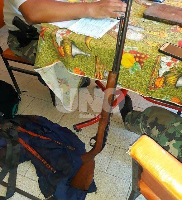 Les secuestraron la embarcación, dos escopetas, 119 cartuchos y 34 patos salvajes cazados