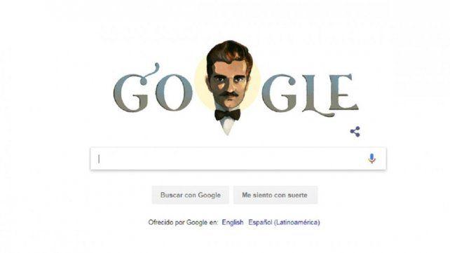 ¿Quién es el hombre al que homenajea Google en su página de inicio?