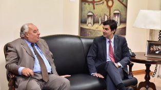 Rafael Gutiérrez se reunió con el gobernador Juan Manuel Urtubey