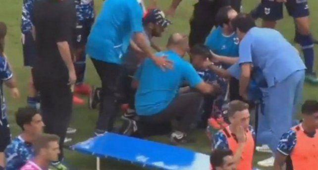 Terribles imágenes: sufrió fractura de cráneo y se pierde el resto del torneo