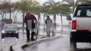 Rige un alerta meteorológico por lluvias y tormentas fuertes