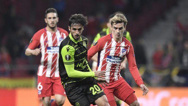 Atlético Madrid busca meterse en las semifinales de la Europa League