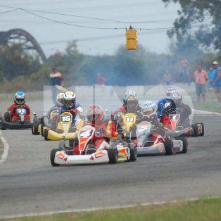 se viene la 2ª fecha del campeonato santafesino de karting de asfalto