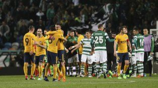 Europa League: El Aleti hizo pesar la diferencia de la ida en Lisboa