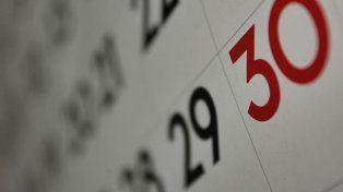 ¿Es feriado puente o no el 30 de abril?