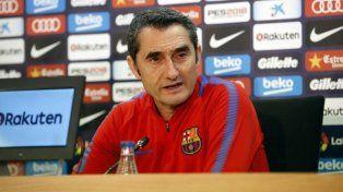 Valverde: No es cierto que Messi me pidió explicaciones
