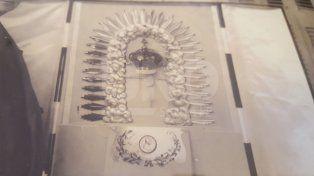 Una corona, 90 años de historia y un robo que no pudo contra la devoción de los fieles