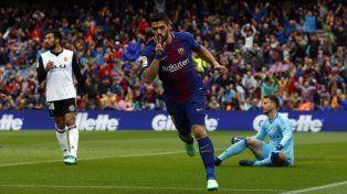 El Barsa se puso de pie ante Valencia y acaricia el título