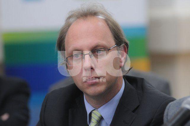 Ajuste fiscal: Saglione se reunió con autoridades nacionales
