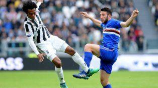 Juventus goleó a Sampdoria y se escapó en la punta del Calcio