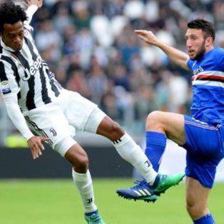 juventus goleo a sampdoria y se escapo en la punta del calcio