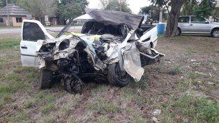 Murió una mujer en un accidente sobre la ruta 1
