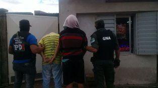 Cayó preso Perrito, un vendedor barrial de drogas de Rafaela