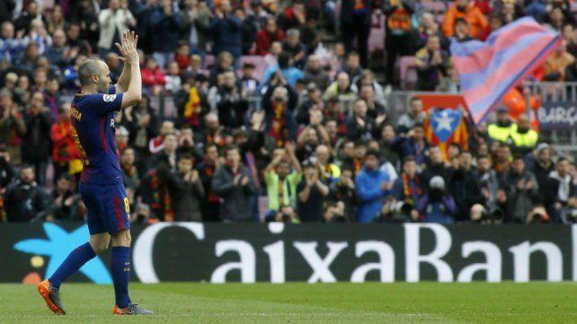 Iniesta prepara su adiós de Barcelona