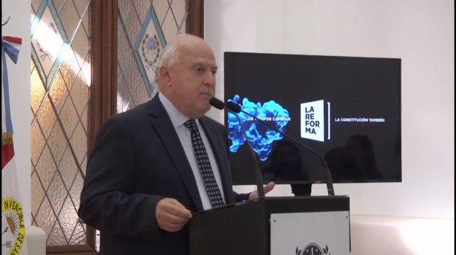 Proyecto reforma: Lifschitz pidió madurez y responsabilidad en la dirigencia política