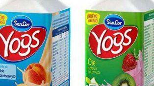 Sacan del mercado 11 lotes de yogur SanCor