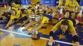 Boca es el nuevo campeón de la Liga Femenina de vóley