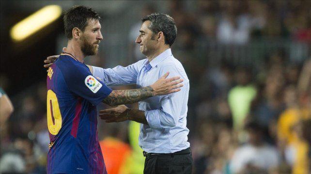 Valverde: Messi está bien, que estén tranquilos los argentinos