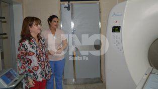 Evaluaron la puesta en funcionamiento del tomógrafo en el hospital Iturraspe