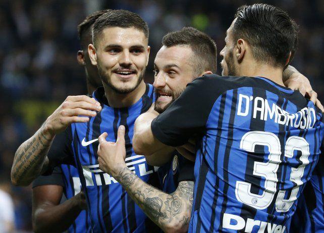 Icardi convirtió para Inter y marcó un récord
