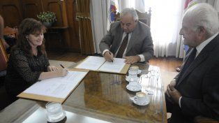 La Corte Suprema firmó un convenio con el  Ministerio de Salud