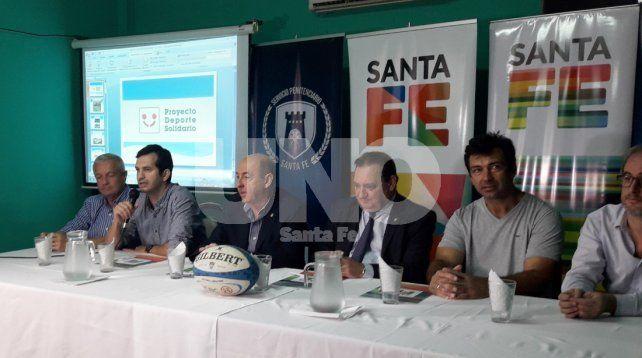 Se firmó un convenio de rugby en la cárcel de Las Flores