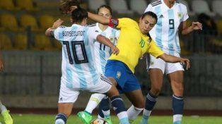 las chicas se topan otra vez con brasil en la copa america