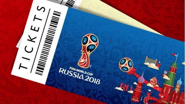 Argentina picó en punta a la hora de comprar entradas para Rusia