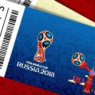 argentina pico en punta a la hora de comprar entradas para rusia