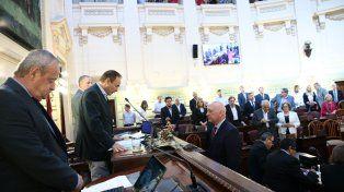 Bonfatti fue reelecto como presidente de la Cámara de Diputados