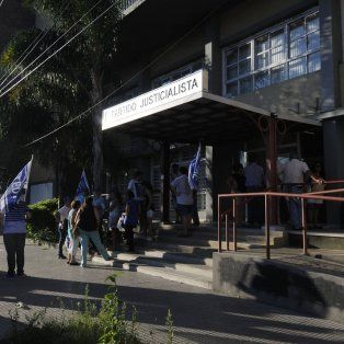 Sede. Este viernes, a las 11, se reunirá el consejo ejecutivo del PJ santafesino en la Casona de calle Crespo.