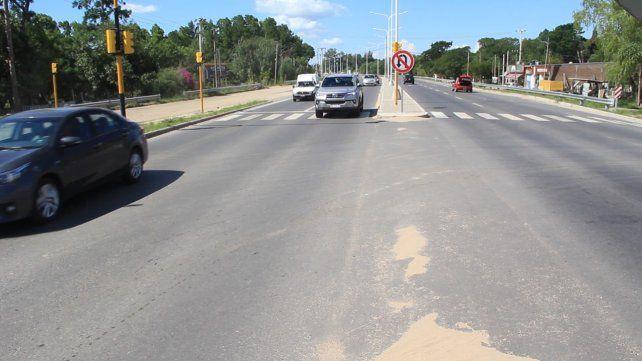La obra se realizará paralela a la traza de la ruta provincial 1 por donde se proyectan las colectoras