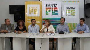 Desde Reconquista la ministra de la Producción Alicia Ciciliani anunció la extensión territorial de la emergencia