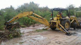 Tras las lluvias, el intendente de Rincón destacó la respuesta del municipio y la provincia