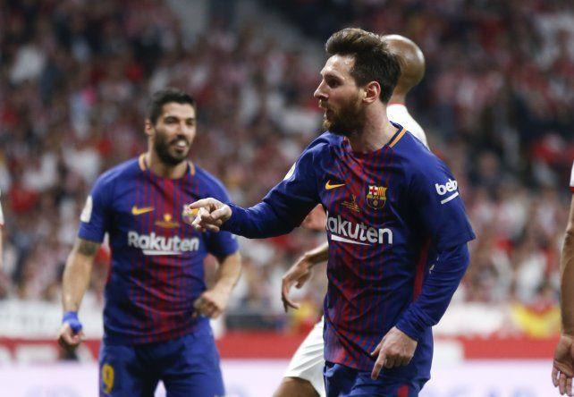 Barcelona aplastó a Sevilla y es tetracampeón de la Copa del Rey