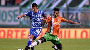 Godoy Cruz dejó pasar la chance de quedar a tiro de Boca