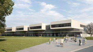 La obra del nuevo hospital Iturraspe ya se encuentra en la cuarta etapa