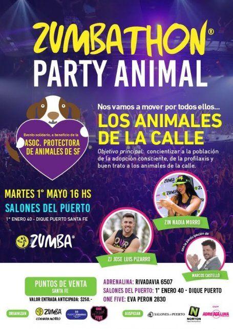 Invitan a bailar por los animales de la calle