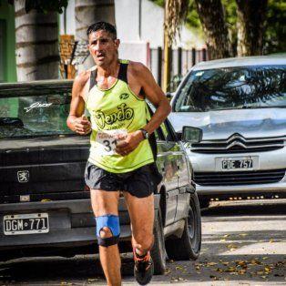 un santafesino fue el mejor en el maraton aniversario de hernandez
