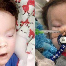 El bebé británico desconectado de las máquinas que lo asistían respira por sus propios medios