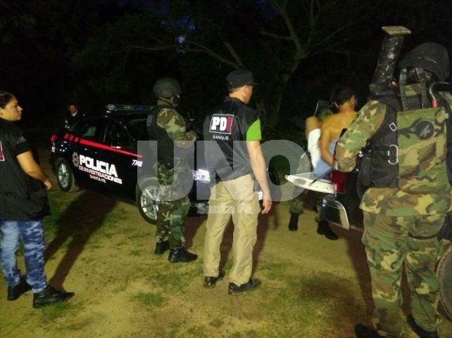 Cayó preso en Colastiné por balear a una mujer y a un menor en barrio Santa Rosa de Lima