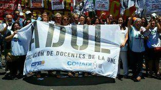 Foto. Facebook del la Asociación de Docentes de la UNL (ADUL).