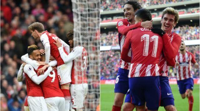 Atlético Madrid visita al Arsenal, en una final anticipada